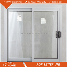 YY Home high quality double glass thermally broken commercial aluminum window frames