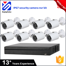 higher resolution 8ch poe nvr kit 1.3M 720P D1 CIF security camera cover home guard security ip camera