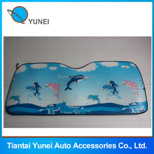 Cheapest advertising gift pe foam front car sunshade