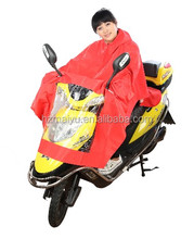 High quality waterproof electric scooter poncho/motorcycle raincoat rain poncho