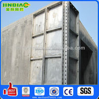 Aluminum alloy shutter system for building construction (