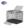 Top Open 1 Door Foldable Metal Rabbit Cage, Coney Cage, Lapin Cage
