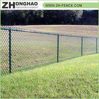 High Security Good offer PVC coated Bulk sale Factory price Manufacturer Professional galvanizing chain link fence/fencing