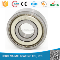 High speed and low noise of ball bearing 6200zz,6200 2RS used in fan