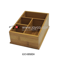 newest bamboo small wooden cardboard drawer storage box, utensil box with LFGB/FDA certificates