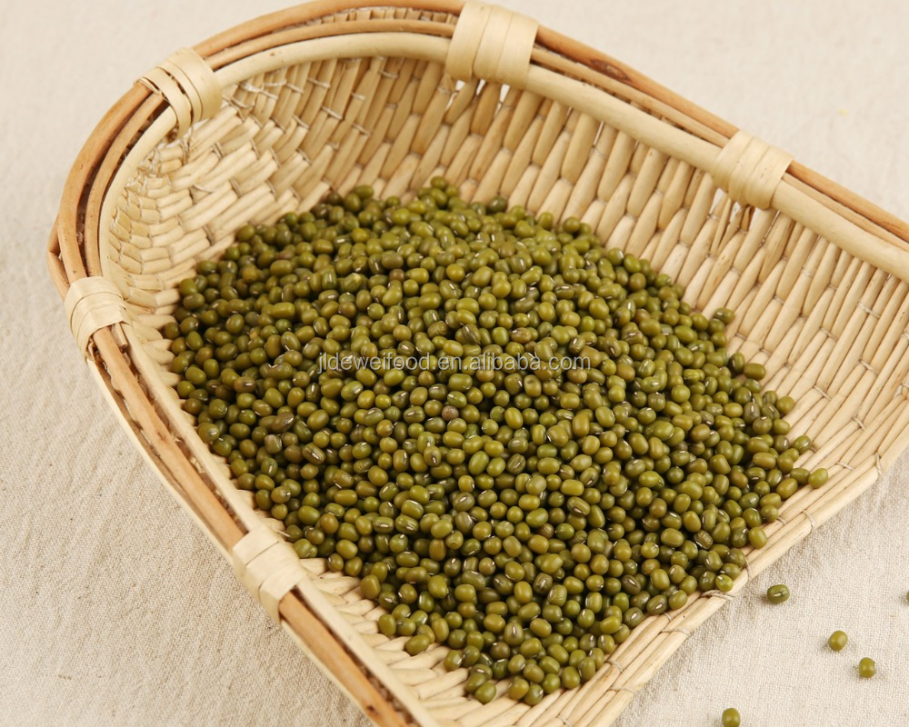 certified organic green mung bean
