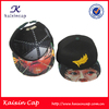 Customized sticker winter snapback hats and fitted caps