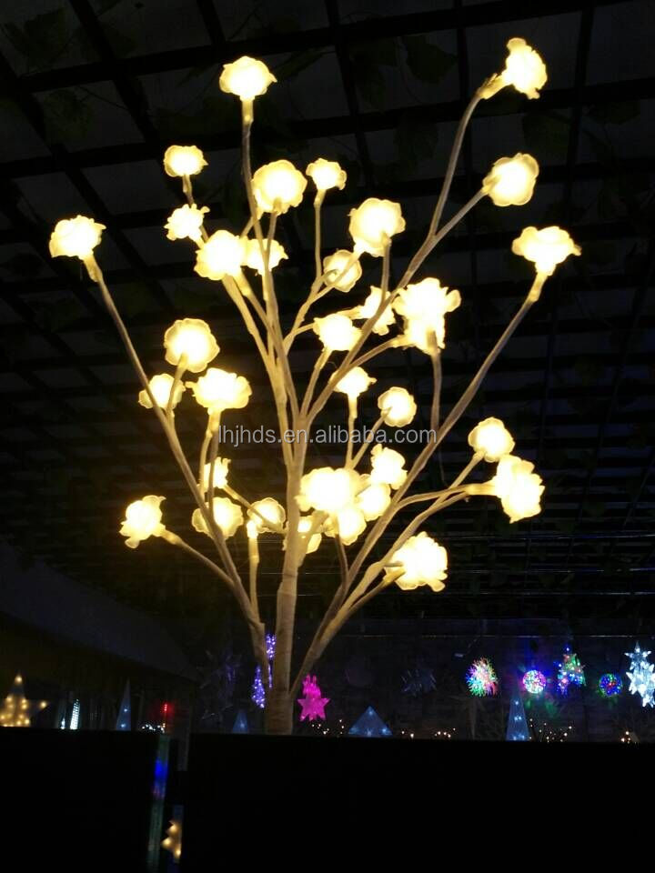 Indoor White & Rose LED Decorative Lights