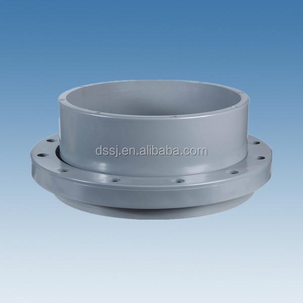 Plastic pipe fittings upvc spigot flange pvc stub end for