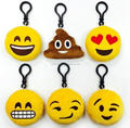 "Emoji Mini Plush Pillows, Keychain Decorations, Kids Party Supplies Favors, 2"" Set of 10"