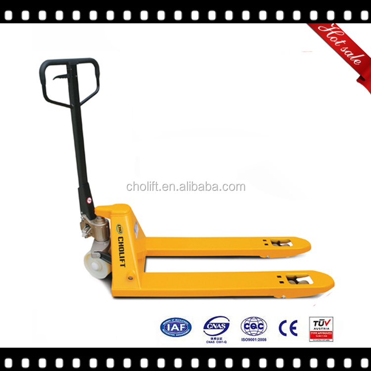 Competitive hydraulic pump hand pallet truck SBA TUV 2.5T to 3.0T