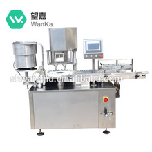 Shanghai Factory Price 5-10g Powder Automatic Filling And Capping Machine For Small Dose Glass Bottles