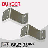 Heavy duty zinc plated, stainless steel hinges for box truck
