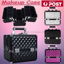 Professional Portable Cosmetics Beauty Case Makeup Nail Storage Box Carrying case