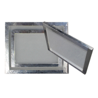 inner size 19*25cm Silk Screen Printing Aluminum Frame with 40 white Mesh