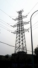 500KV hot-dip Galvanized steel electric power transmission tower