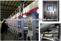 Multicolor bopp/opp/pe/pet film roto printing machine in wenzhou JIAMAO manufacturer