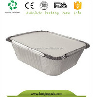 Aluminum Foil Food Tray With Cover