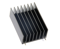 aluminum extruded profiles heatsink