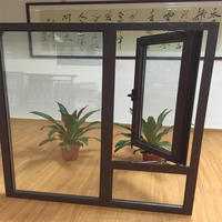 Aluminum window for building and house