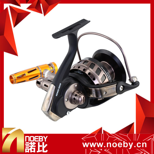 100% FULL METAL Max Drag 10KG Weihai NOEBY RYOBI SAFARI DNA Spool Spinning Fishing Reels Made In China