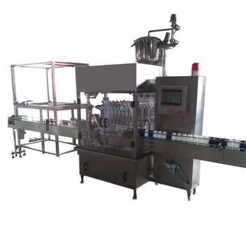 Automatic Plastic Bottle Capping Machine Tomato Sauce Filling Machine