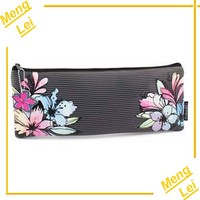 China factory jean pvc 3 layers pencil case