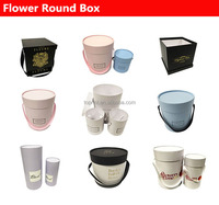 Round White Paper tube flower shipping boxes/ flower bouquet boxes