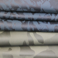 New Fashion Camouflage Artificial Garment Leather