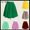 Latest Midi Ladies Pleated Full Skirt