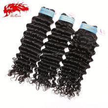 Natural Black Color Popular Style Peruvian Deep Wave Ali Queen Hair