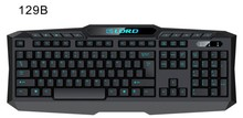 2016 Professional Wired Backlit Multimedia LED Gaming Keyboard for PC Laptop