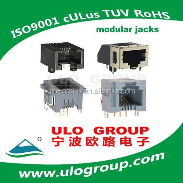 With Zinc Alloy Shell rj45 connector lan jack modular jack rj45 8p8c outdoor panel mounted rj45 connector