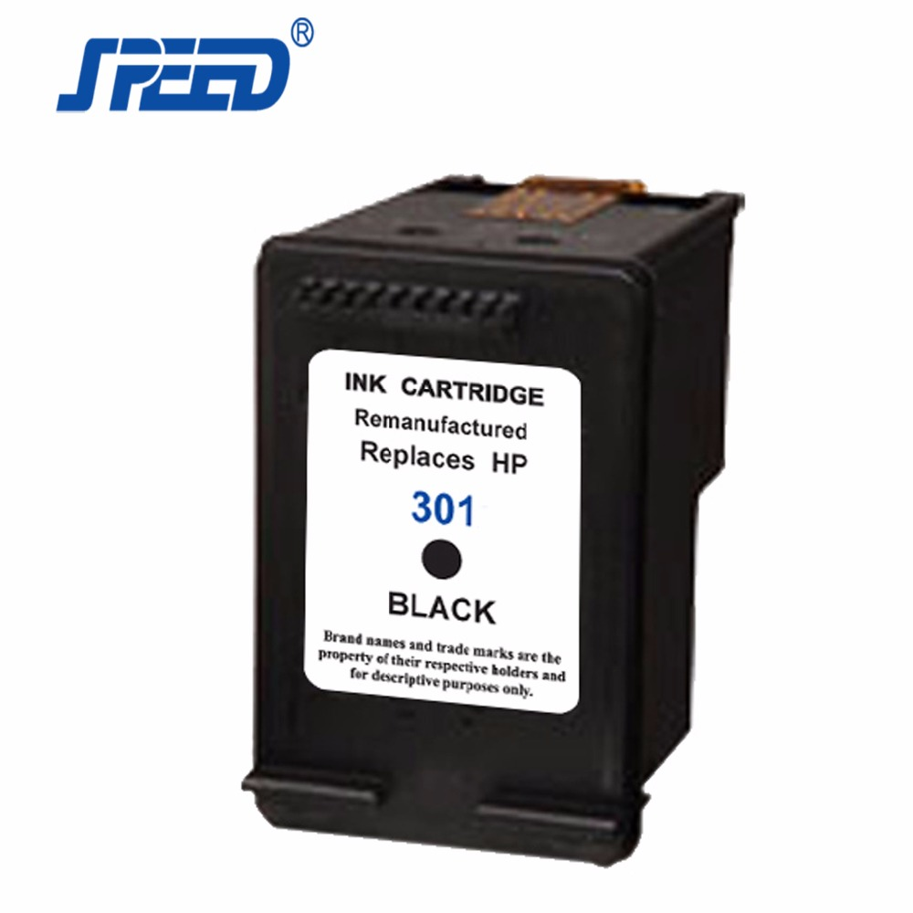 Remanufactured Ink Cartridge For HP 301 XL, Replacement Ink Cartridge For HP 301 BKXL Deskjet 1000 1050 3050 2050 Envy 4500