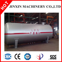 JX LPG storage tank asme 10000l pressure vessel/LPG gas storage tank on sale