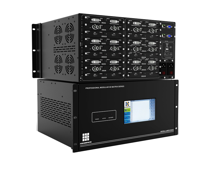 projector seamless switcher 8x8/18x18/32x32 ,audio.video solutions support 4K EDID
