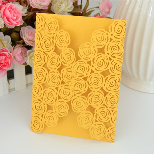 card for wedding,laser cut wedding invitations elegant,wedding fantastic pink invitation made in china