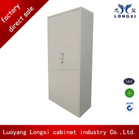 Luoyang factory Simple design low price glass library steel cupboard