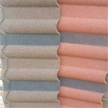 colorful sand multi-layer protection corrugated tile for roofing price