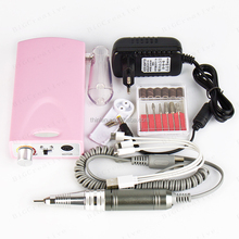 mini electric nail drill portable battery rechageable pedicure manicure drill art machine
