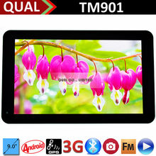 9 inch 3G wifi tablet cheap dual core phablet MTK8312 Bluetooth FM GPS Full Function Android 4.4 B