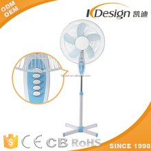 2017 new model 16 inch electric stand fan with high quality motor OEM high 3 speed fan