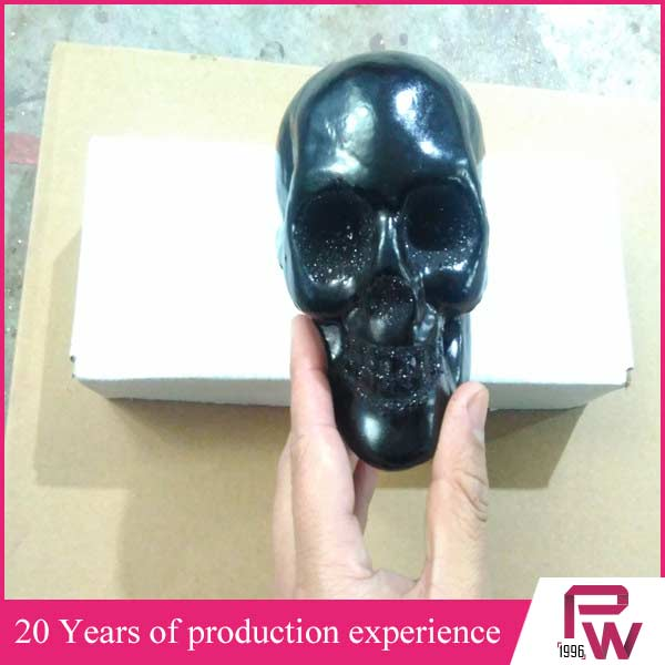 Hot selling halloween foam skull made in china