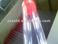 Plastic PVC Clear Pipe with Plus