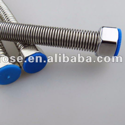 "1/2"" AISI304 stainless steel metal toilet flexible hose"
