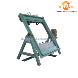 H beam assembly machine easy operation, steel beam baffle box assembly machine