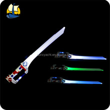 x-1 plastic kid light sword with vibration and sound