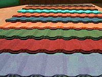 stone coated metal color roofing tile sheet price