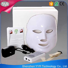 YYR Light Therapy Skin Rejuvenation Facial Mask 7 Colors Facial Led Mask Best Acne Treatment