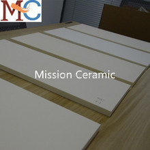 Customized 99.7% Ceramic 510*210*15mm Alumina Plate/Al2O3 Block